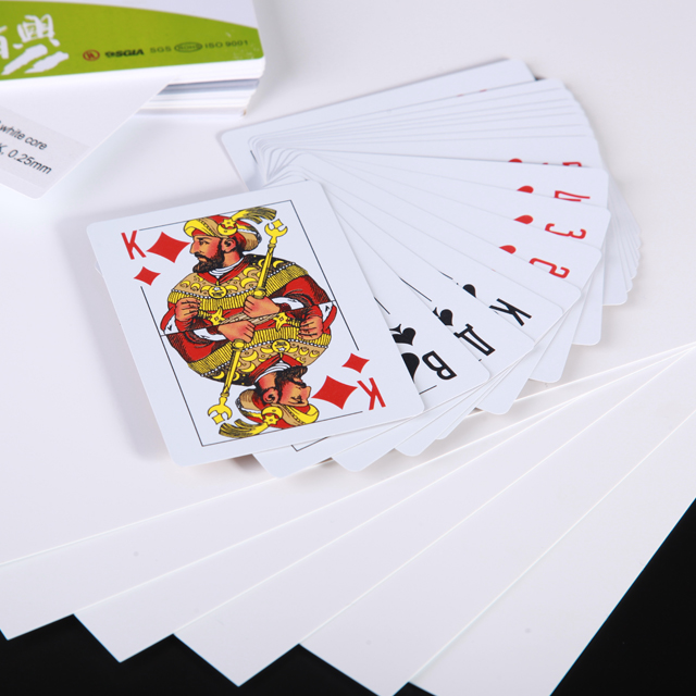 Playing Card PVC Card Base